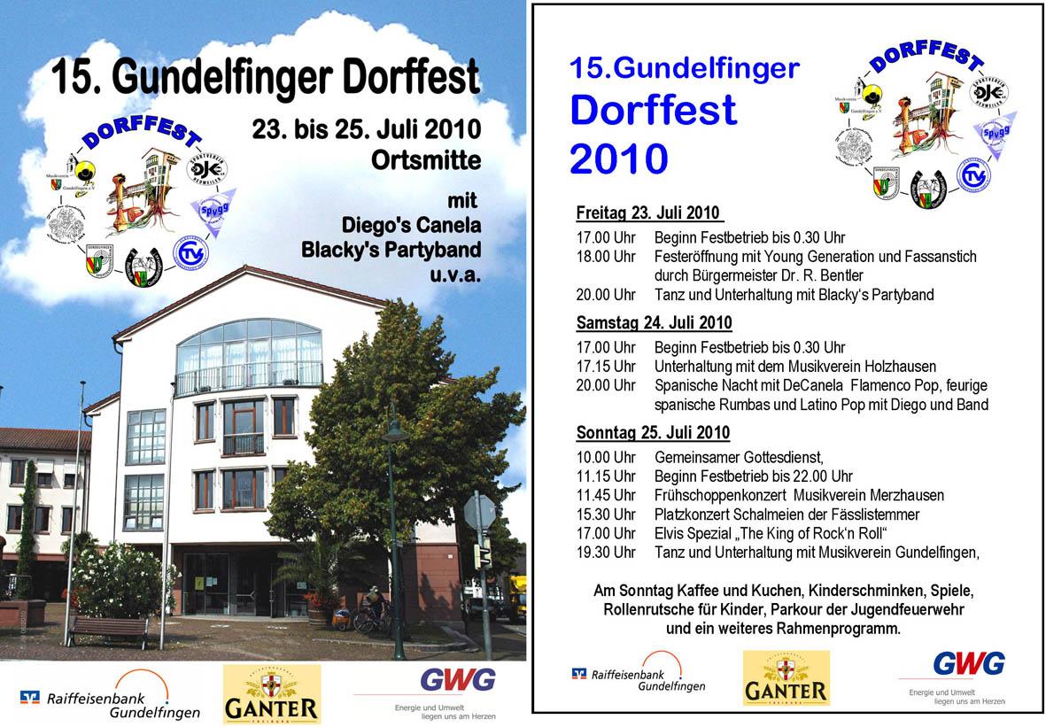 Dorffest Gundelfingen