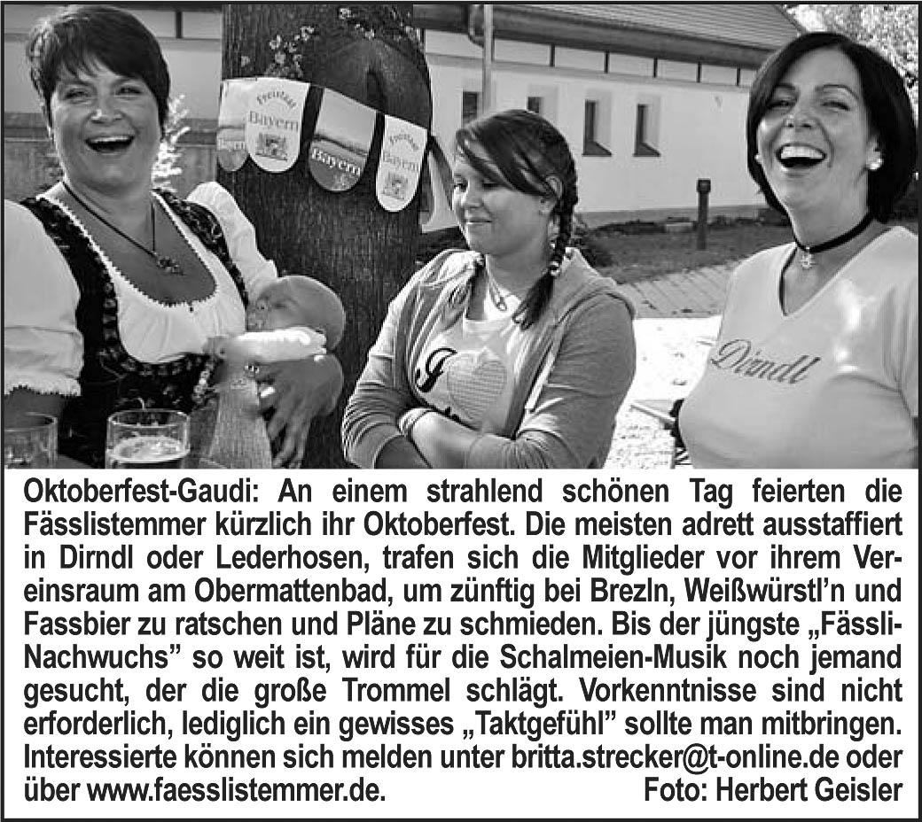 Gundelfinger Oktoberfest