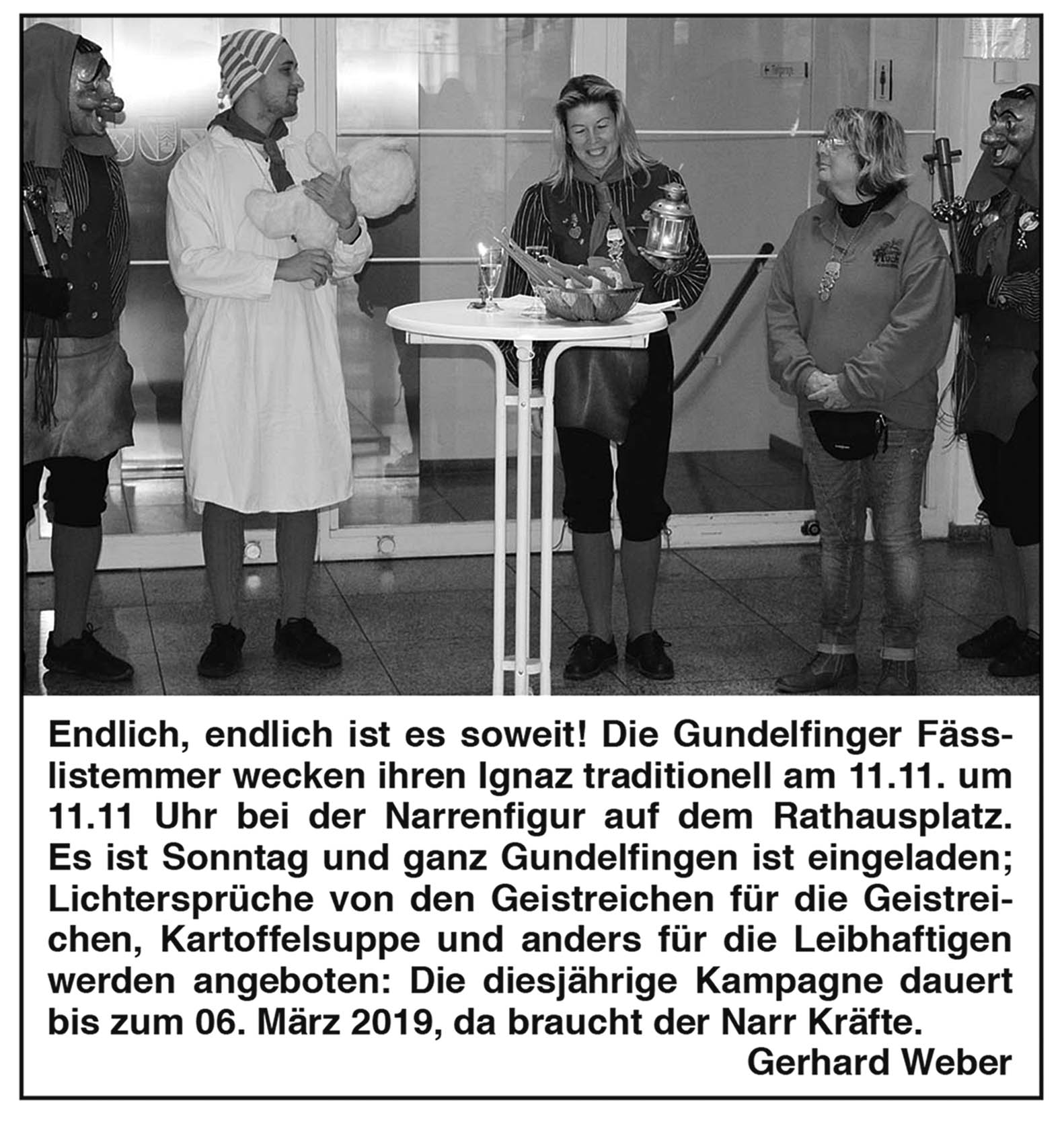 Narrenzunft Gundelfingen