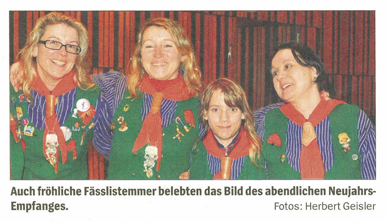 Neujahrsempfang Gundelfingen